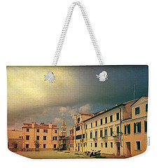 Weekender Tote Bag featuring the photograph Malamacco Massive Cloud by Anne Kotan