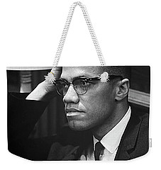 Malcolm X On Criticism Weekender Tote Bag