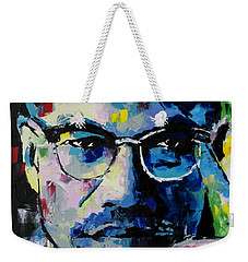 Malcolm X Weekender Tote Bag by Richard Day