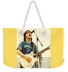 Malcolm Young Of Ac Dc At Day On The Green - July 1979 Weekender Tote Bag