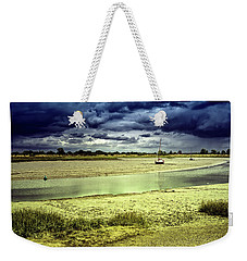Maldon Estuary Towards The Sea Weekender Tote Bag