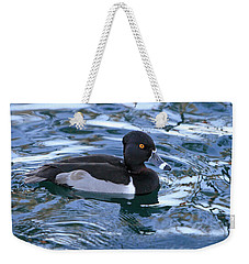 Male Ring-necked Duck  Weekender Tote Bag by Shoal Hollingsworth
