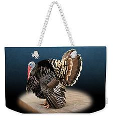 Male Turkey Strutting Weekender Tote Bag