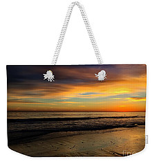 Malibu Beach Sunset Weekender Tote Bag