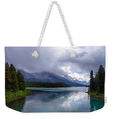 Maligne Lake Weekender Tote Bag