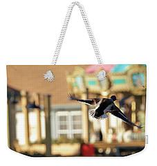 Mallard Duck And Carousel Weekender Tote Bag