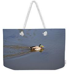 Mallard Duck Burgess Res Co Weekender Tote Bag