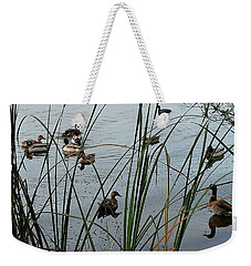 Mallard Migration Weekender Tote Bag