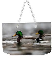 Mallard Weekender Tote Bag by Paul Freidlund