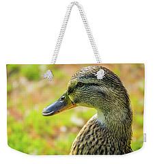 Mallard Portrait - Female Weekender Tote Bag