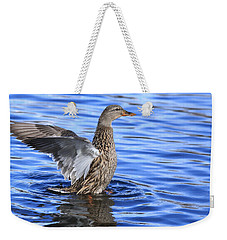 Mallard Wing Action Weekender Tote Bag