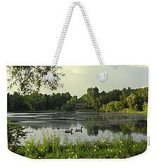 Mallards Lake II Weekender Tote Bag