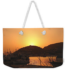 Weekender Tote Bag featuring the photograph Mallorca 1 by Ana Maria Edulescu