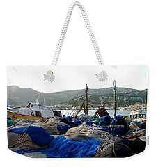 Weekender Tote Bag featuring the photograph Mallorca 2 by Ana Maria Edulescu