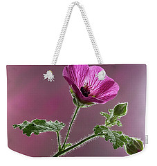 Mallow Flower 3 Weekender Tote Bag