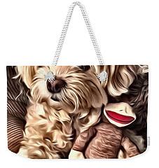 Maltipoo Love Weekender Tote Bag