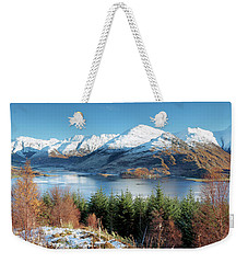 Weekender Tote Bag featuring the photograph Mam Ratagan by Grant Glendinning