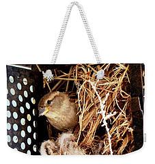 Mama Bird Weekender Tote Bag