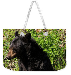 Mama Black Bear Weekender Tote Bag