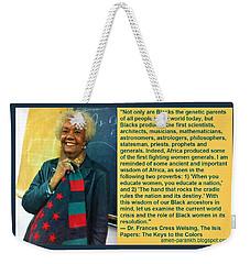 Mama Frances Cress Welsing Weekender Tote Bag