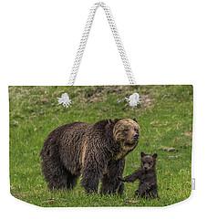 Mama Just Don't Move Weekender Tote Bag