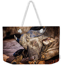 Weekender Tote Bag featuring the photograph Mama Said There'd Be Days Like This by Rick Furmanek
