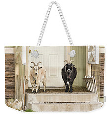 The Goat Guard Weekender Tote Bag