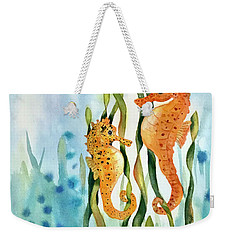 Mamma And Baby Seahorses Weekender Tote Bag