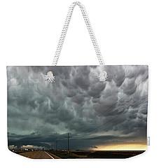 Mammatus Over Montata Weekender Tote Bag by Ryan Crouse