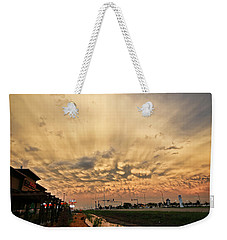 Mammatus Over Yorkton Sk Weekender Tote Bag by Ryan Crouse
