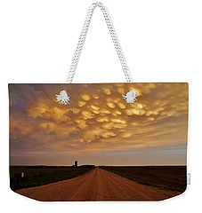 Mammatus Road Weekender Tote Bag by Ed Sweeney