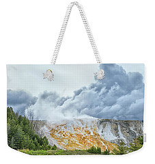 Mammoth Hot Springs Weekender Tote Bag