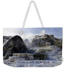 Mammoth Hot Springs Terraces Weekender Tote Bag