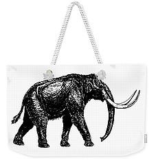Mammoth Tee Weekender Tote Bag by Edward Fielding