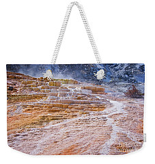 Mammoth Terraces Of Yellowstone Weekender Tote Bag