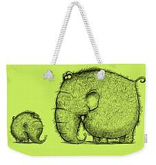 Mammothz Weekender Tote Bag by Andy Catling