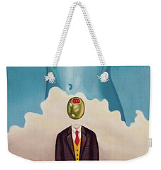 Man Dreaming Of Woman Weekender Tote Bag