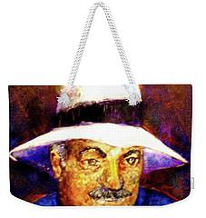 Man In The Panama Hat Weekender Tote Bag