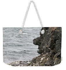 Man Of The Stone Weekender Tote Bag