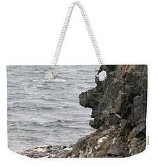Man Of The Stone Weekender Tote Bag