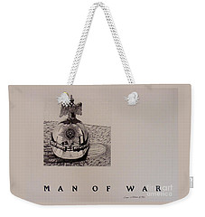 Man Of War Weekender Tote Bag