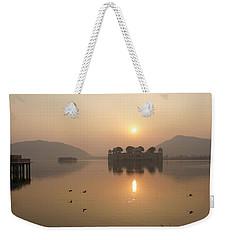Man Sagar Lake Weekender Tote Bag