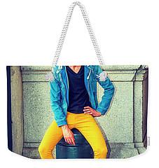 Man Street Fashion Weekender Tote Bag
