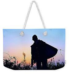Man With Bag Weekender Tote Bag