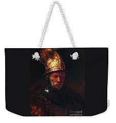 Man With The Golden Helmet Weekender Tote Bag