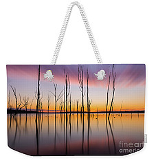 Manasquan Reservoir Long Exposure Weekender Tote Bag