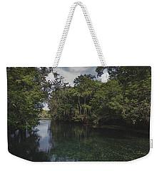 Manatee Springs Weekender Tote Bag