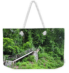 Manayunk - Steps From The Wissahickon Train Station Weekender Tote Bag by Bill Cannon