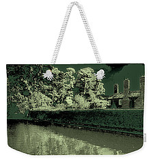 Weekender Tote Bag featuring the photograph Manchester Factory by David Patterson