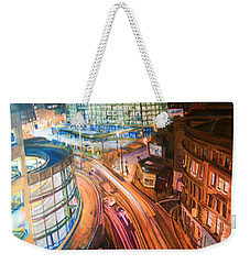 Manchester High Street Weekender Tote Bag